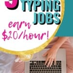 I'm a fast typer, so going for online typing jobs is an incredible idea for this stay at home mom to make money from home! It is my dream to not just stay home but to work from home, so that I can give our family a better life with more stable financials! #OnlineTypingJobs #AtHome #WorkFromHome #SideHustle #MakeMoneyOnline #RemoteJobs #OnlineJobs