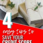 I'm glad I saw this before I was done with my holiday shopping so I didn't make any big money mistakes! I've been trying hard to work on my credit score and I definitely don't want to send it in the wrong direction! Share this with all your friends so they set up their new year for financial hardship either! #CreditScore #CreditRepair #FinancialManagement #SmartMoney #Budget #MoneyTips #ChristmasTips #HolidayTips #HolidayBudget