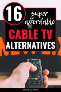 I feel a little dumb that I never really thought about the fact that these streaming services ARE alternatives to cable TV -- we've basically been double paying for longer than I care to admit! Definitely calling my cable company ASAP to cancel, and going to try a couple more of these to fill in the gaps! I cannot wait to start saving money on my cable bill! #AlternativesToCableTV #CutTheCord #StreamingServices #SaveMoney #Entertainment #WatchTVOnline #Budget #ManageMoney #FreeMovies #Streaming