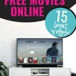 OMG I never knew that most of these streaming services even existed!!! I cannot believe how much money we have been WASTING on watching movies when we could have been watching free movies online all this time instead! Definitely share this list with everyone you know so they can stop throwing money away too! #FreeMoviesOnline #NetflixAlternatives #SaveMoney #FreeStuff #HowToWatchMoviesOnline #FreeMovies
