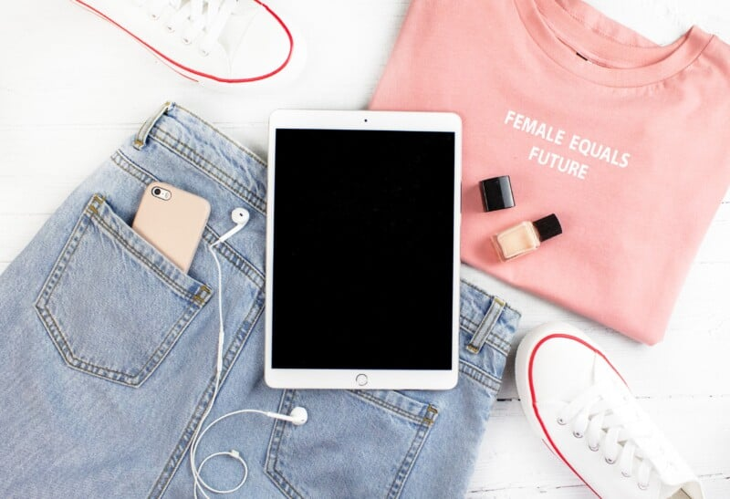 clothing iphone and ipad for online shopping shopify boutique
