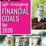 I've never really thought about having any specific financial goals before -- I guess I just kind of vaguely thought I should save more and spend less but that was about as far as it went. I've clearly got my work cut out for me to make this my best financial year ever! #FinancialGoals #SaveMoney #PayOffDebts #Budgeting #EmergencyFund #PersonalFinance #ManageMoney #DaveRamsey