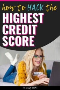 Wow, I definitely didn't realize that credit scores went up THAT high! I guess I have some credit repair to do before I could reach the highest credit score. Pinning this so I can check my progress on these tips once in a while! #HighestCreditScore #CreditRepair #CreditCheck #Debt #Overspending #CreditCards