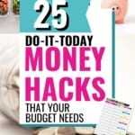 Some of these money hacks are so straightforward, I can't believe I didn't think of them myself!!! Can't wait to start making some changes and getting out finances under control here soon! #MoneyHacks #Budgeting #SaveMoney #FreeStuff #ExtraCash #FrugalLiving #DaveRamsey #DebtFree #Wealth