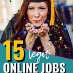 I can't believe how many options there are for online jobs for students! This is seriously insane how easy it might be to actually make money online and graduate college WITHOUT student loans, woah! I definitely need to share this list with my teen to get them thinking! #OnlineJobs #StudentJobs #CollegeJobs #WorkFromHome #SideHustle #MakeMoneyOnline #OnlineJobsForStudents