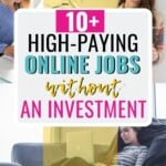 Definitely ready to start making at least some side hustle income, if not build a full-fledged home-based business to change my income and help me pay off debts! I really love this list of online jobs without an investment required because I just don't have the cash to start much of anything otherwise! I mean, don't people realize how much money it takes to actually start a business -- money you don't have?! Wish me luck! #OnlineJobs #MakeMoney #SideHustle #SideHustleIdeas #WorkFromHome