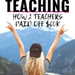 OMG, what an inspiration! As a teacher, I know exactly how hard it is to make noticeable changes to your budget because there is so little money to work with in the first place!!! I have got to get my hands on some of these books and resources and start getting my head in the game so that we can get out from under out debts once and for all! #DebtPayoff #Story #Inspiration #Tips #Budgeting #TeachersSalary #Advice #MoneyMindset #TeacherJobs