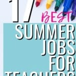 I never knew that half of these sorts of jobs even existed, and for the short-term nature of many of them, they really ARE the best summer jobs for teachers! I wonder how many of them I could fit it DURING the school year, and really boost my financial efforts! #BestSummerJobsForTeachers #SummerJobs #Teachers #WorkFromHome #MakeMoney #OnlineJobs #Proofreading #MomJobs #ExtraCash