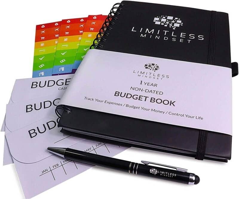 Budget Planner Limitless Mindset Budget Planner