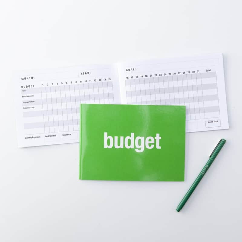 Budget Planners Be Your Best You Notebooks