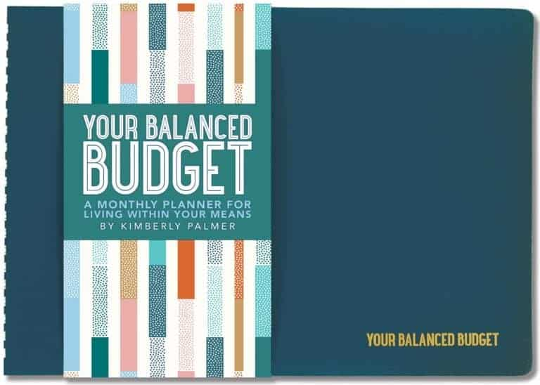 Budgeting Planners Kimberly Palmer Your Balanced Monthly Budget Planner