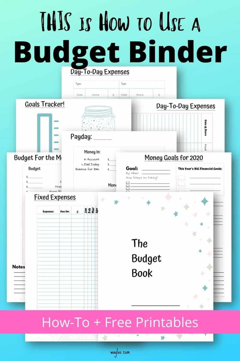 How to use a Budget Binder plus Printables