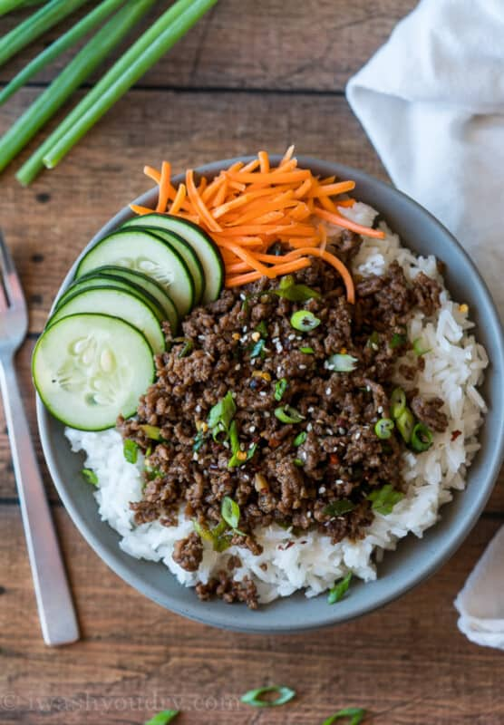 korean ground beef recipe