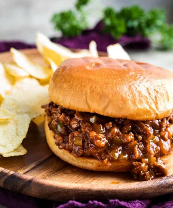 homemade sloppy joes ground beef recipe