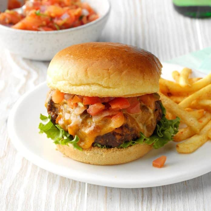 taco burgers ground beef recipe