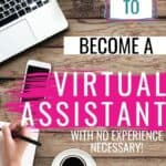 Wow I have always wanted to make money from home and I never really knew how many opportunities there were. I have always loved helping others so becoming a virtual assistant sounds like a perfect job! I am so excited to learn how to become a virtual assistant and start working from home. #VirtualAssistant #WorkFromHome #BeginnerJobs #StayAtHomeMom #MakeMoneyOnline #OnlineJobs