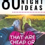 I LOVE this list of cheap date night ideas! There are so many affordable, fun date ideas on this list, I don't even know which one I would want to start with -- it's SO hard to choose! I love that almost all of these could be modified to suit parents that really need to fit in date nights around their kids! #CheapDateNightIdeas #AtHome #Romantic #Creative #Fun #Budget