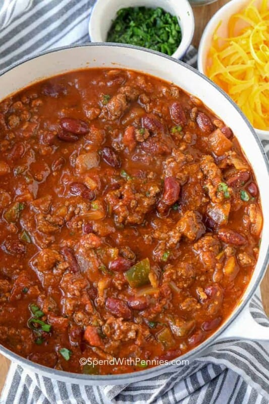 classic chili ground beef recipe