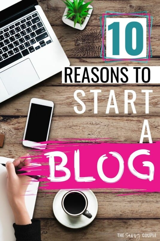 I never really knew a good reason for why to start a blog, but this actually makes it sound a lot more FUN than I expected it to be! I especially love the idea of expanding my skillset while working for myself! #WhyStartABlog #HowtoStartaBlog #HowtoBlog #WorkFromHome #SideHustle #BloggingTips