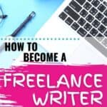 I've seen a few people talk about how to become a freelance writer as a work-at-home job, especially as a stay at home mom job, but I never really knew it was something I could get started for myself! I always thought you had to have a writing or journalism degree or something, but I guess that was silly of me! I definitely need to look into getting going and making some money on the side or a new career! #FreelanceWriting #WorkAtHomeJobs #StayAtHomeMomJobs #MakeMoneyOnline #SideHustleIdea