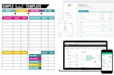 9 Best Budget Templates That Will Help Control Your Money