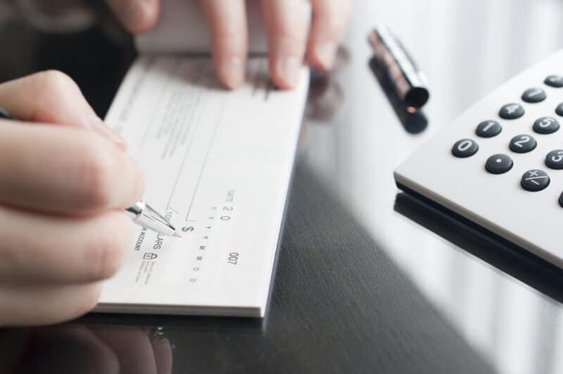 how to write a check faq